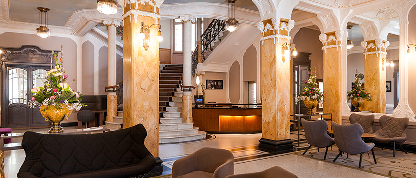Hotel Royal St. Georges, Interlaken, Bernese Oberland, Switzerland - reception and lobby.jpg